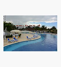 Pool Resort Photographic Print