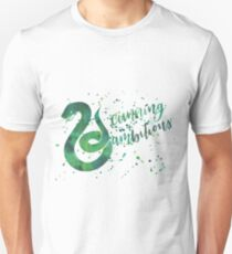 House Snake Cunning and Ambitious Watercolor Unisex T-Shirt