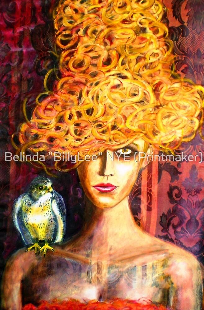"""Lady Hawk by Belinda """"BillyLee"""" NYE (Printmaker)"""