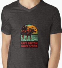 Cape Breton Nova Scotia Canada Vintage Travel Decal T-Shirt