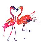 Flamingo Love by Emma Kaufmann