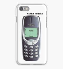 Nokia 3310 iPhone Case/Skin