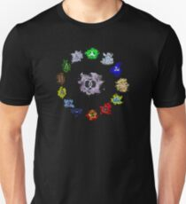 The 100 Clans: The 13 Clan Coalition (Dark) Unisex T-Shirt