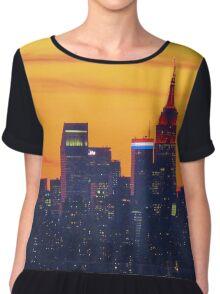 New York City  Women's Chiffon Top