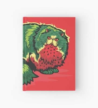 [FruitCats] Watermelon Hardcover Journal