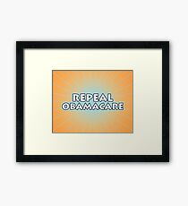 Repeal Obamacare Framed Print
