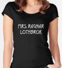 Mrs Ragnar Lothbrok Vikings Women's Fitted Scoop T-Shirt