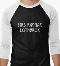 Mrs Ragnar Lothbrok Vikings Men's Baseball ¾ T-Shirt