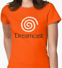 Dreamcast (Logo) Women's Fitted T-Shirt