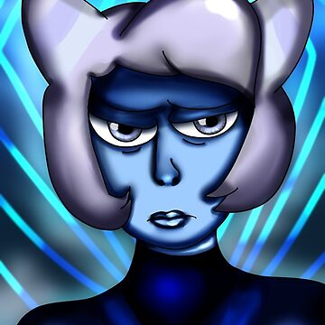 SU Holly Blue Agate Portrait by TheVioletWitch
