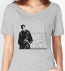 Firefly's Malcolm Reynolds: A Big Damn Hero Women's Relaxed Fit T-Shirt