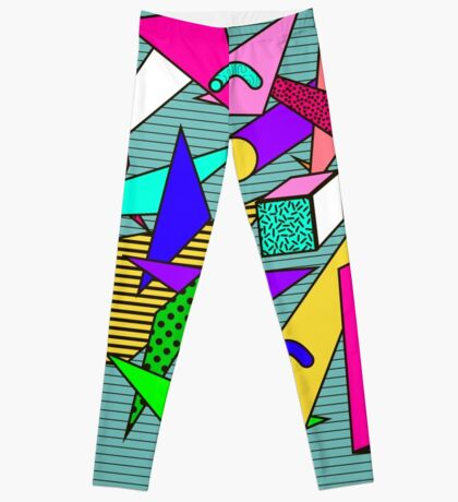 Memphis Geometric Leggings