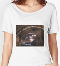 Historic City Hall Subway Station, New York City, Abandoned 1945  Women's Relaxed Fit T-Shirt