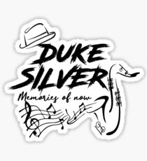 Duke Silver - Parks and Recreation Sticker