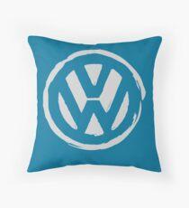 VW Grungy Throw Pillow