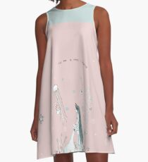 The sea is where I belong A-Line Dress