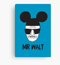 Mr. Walt Canvas Print