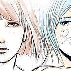 Ghost in the back of your head - Pricefield by Lisislyf