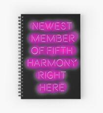 Cuaderno de espiral #BeTheFifthMember (de 5 H)