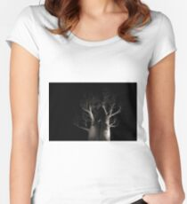 Boab Tree  Women's Fitted Scoop T-Shirt