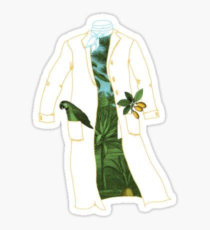 Humboldt's Coat Sticker