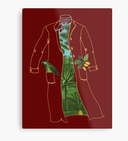 Humboldt's Coat Metal Print