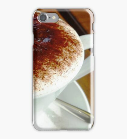 Fantastic coffee, and always hot iPhone Case/Skin