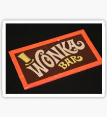 Charlie and the chocolate factory wonka bar Sticker