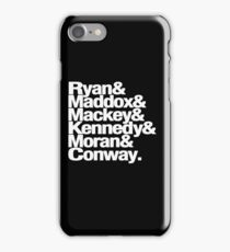 Tana French Dublin Murder Squad Ampersand List iPhone Case/Skin