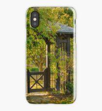 Woodland Gate at Parkwood iPhone Case/Skin