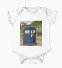 The tardis is shrinking Kids Clothes