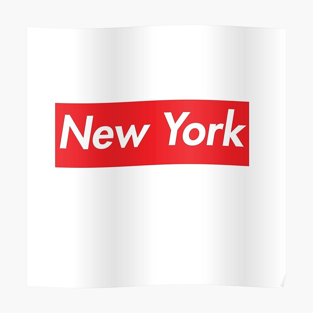 NEW YORK SUPREME Poster