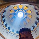 Jerusalem: The Church of the Holy Sepulcher dome. by Eyal Nahmias