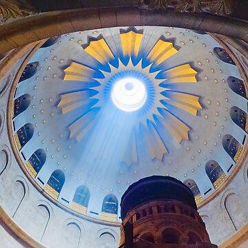 Jerusalem: The Church of the Holy Sepulcher dome. by eyalna