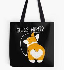 Love Corgi Butt dog Tote Bag