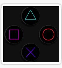PS4 Buttons Sticker