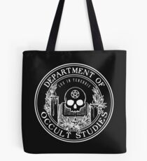 Occult Studies Department - Alastair Stone Chronicles Tote Bag