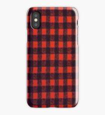 RED BUFFALO PLAID SMARTPHONE CASE (Phoney) iPhone Case