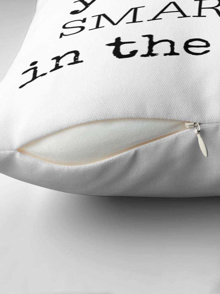 Alternate view of why Throw Pillow