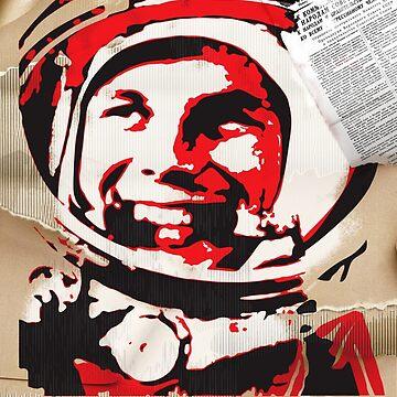 Yuri Gagarin forever with us by ArtGorka