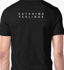 Catching Feelings (Black) Unisex T-Shirt