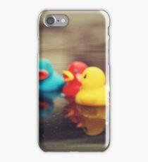 Rubber ducks iPhone Case/Skin