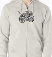 Bicycle Day 'Albert Hofmann' Zipped Hoodie
