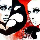 Pop Art Twins by Dorka