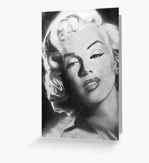 Marilyn Monroe Drawing Greeting Card