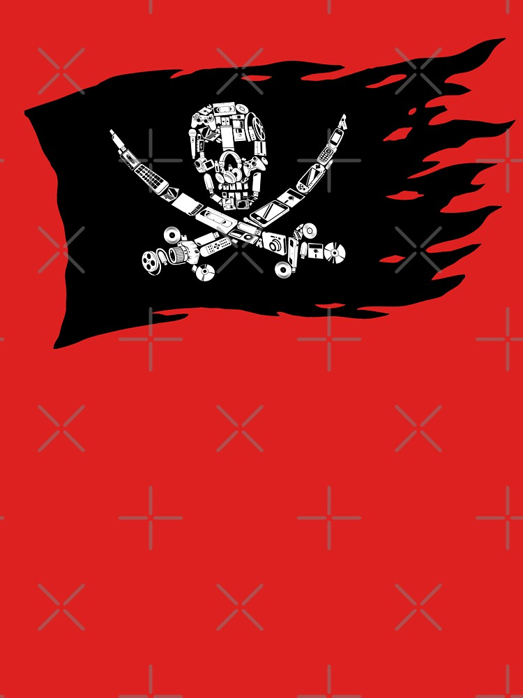 Digital Pirate Jolly Roger by RevolutionGFX