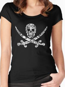 Digital Scallywag Women's Fitted Scoop T-Shirt