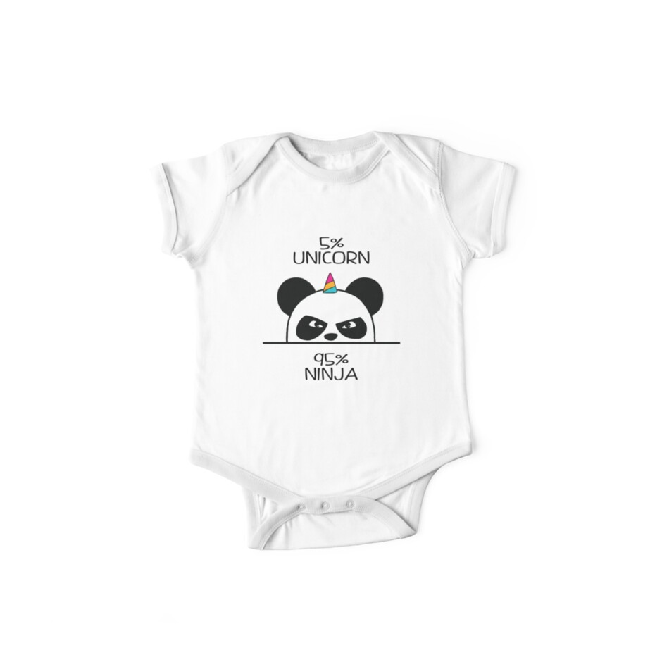Unicorn Ninja Panda by Jandsgraphics