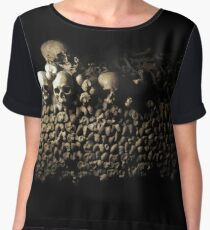 Wall of Bones Women's Chiffon Top