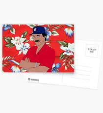 Magnum Stache Postcards